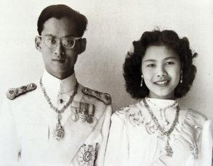 Thailands konge